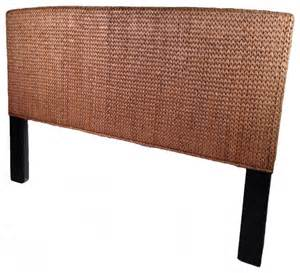 Seagrass Headboard King Seagrass King Headboard Miramar Collection Tropical Headboards By Wicker Paradise