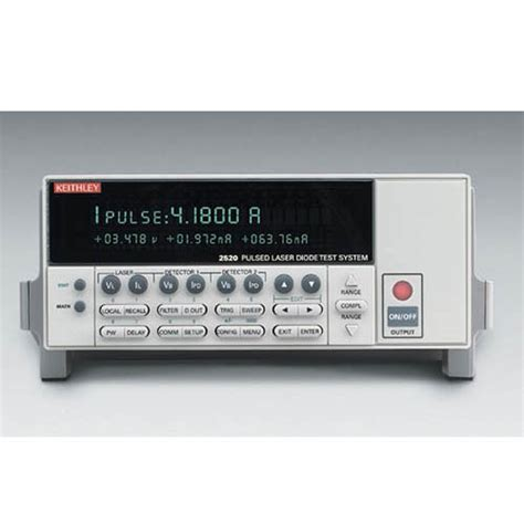 laser diode test keithley 2520 kit1 pulsed laser diode measurement kit with ieee 488 rs 232 interfaces at the