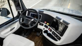 18 Wheeler Truck Interior Accessories 2015 Freightliner Inspiration Truck Interior