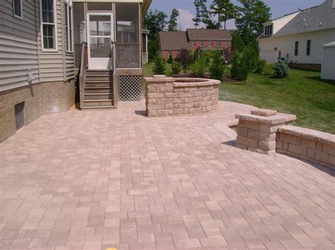 Concrete Patio With Pavers Concrete Patio Pavers Pictures To Pin On Pinsdaddy