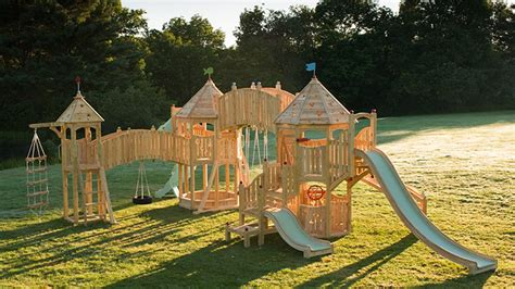 kids dream backyard play playsets from cedarworks habitat kid