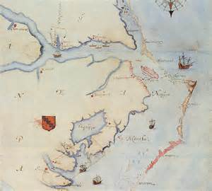 white map chowan fort discovery analysis