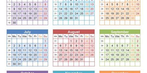 Calendar 2018 With Week Numbers Uk Calendar With Week Numbers 2018 Agi Mapeadosencolombia Co