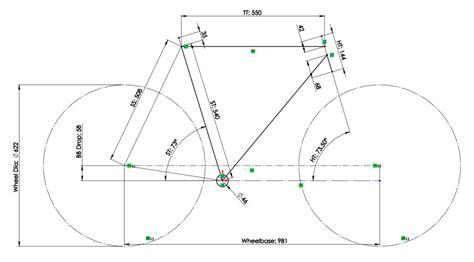 bicycle frame design dimensions award winning bamboo bike