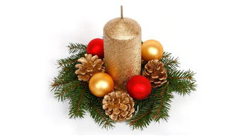 imagenes navidad velas centros con velas para navidad color oro y bolas