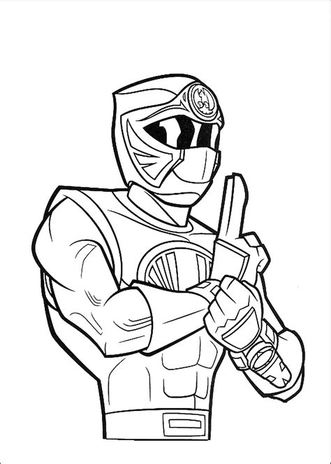free coloring pages of power ranger jungle fury