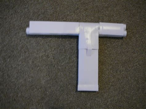 How To Make A Pistol Out Of Paper - auto matic paper gun