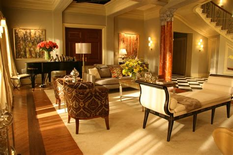 blair home decor waldorf residence living dining room gossip girl