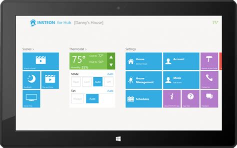 windows 8 into home automation with new insteon apps