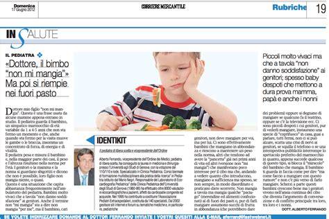 articolo di giornale sull alimentazione 187 articolo di giornale sull obesit 224