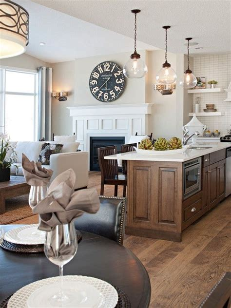 how to decorate open concept kitchen living room grote klok open concept and klok on