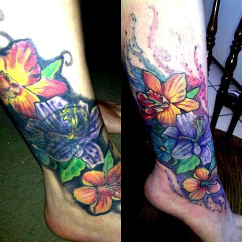 flower tattoo rework issieis flower rework collector lisa libonati