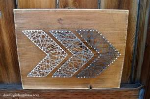 Simple String Designs - easy rustic arrow string dwelling in happiness