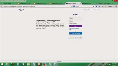 email login yahoo yahoo mail login website page for sign in www yahoomail