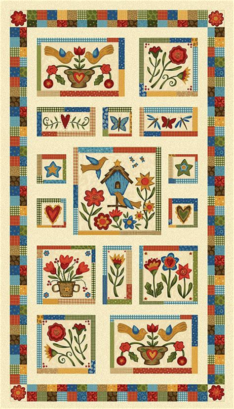 Calico Cottage Quilt Shop by Simple Stitches By Pat Sloan For P B Textiles 524 E