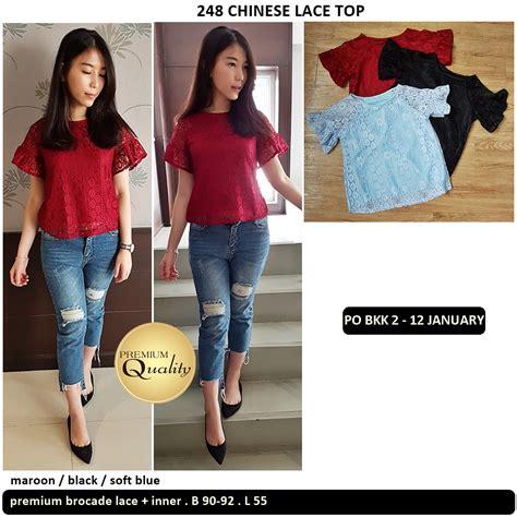 Supplier Baju Termurah Jumpsuit Import China Hk Bkk Kode 1304 lace supplier baju bangkok korea dan hongkong premium quality import thailand