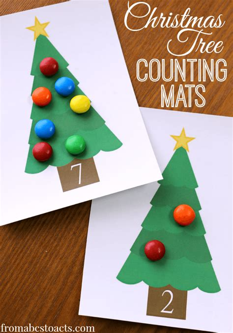 fun christmas math activities for preschoolers 100 hands