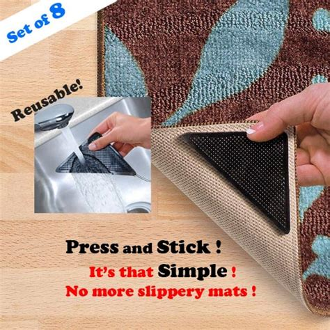 how to use rug gripper rug grip pro reusable rug gripper set of 8 ruggies carpet gripper ebay