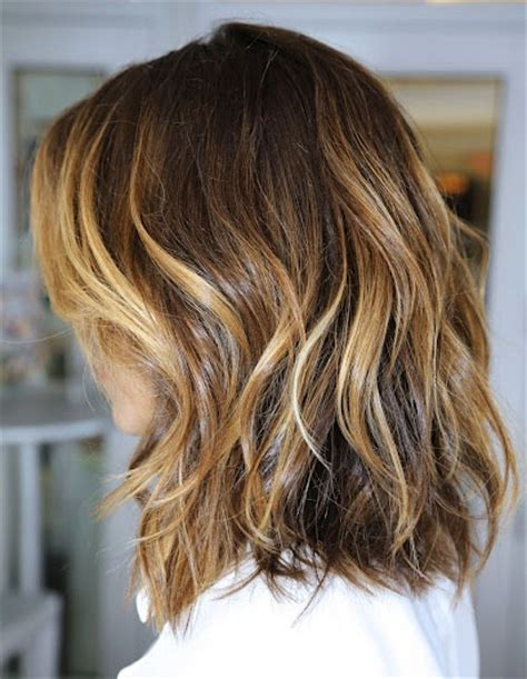 medium length hair with ombre highlights the modernette shoulder length hair