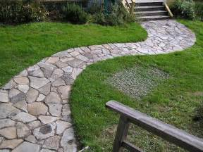 how to lay down a stone pathway how to build a house