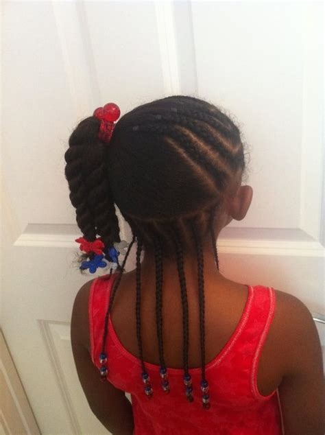 natural hair braids for kids fourth of july hairstyles 10 best images about natural kids pig ponytails on