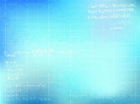 basic math ppt templates backgrounds is a blue and white