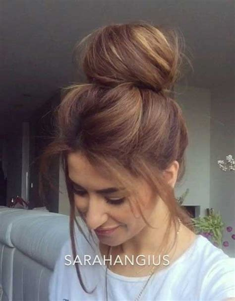 stylish hairstyles for bun ideas for stylish hairstyles 2016
