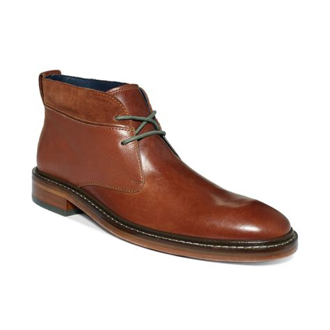 cole haan s boots cole haan air colton winter chukka boots in brown for