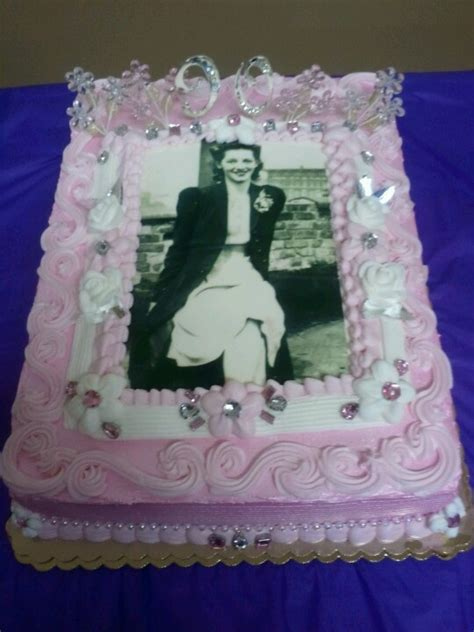 Decorating Ideas Ninetieth Birthday Beautiful 90th Birthday Cake Ideas