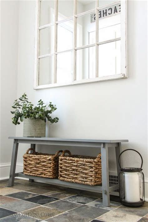 front entrance bench kijiji great entry bench with baskets for storage