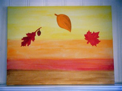 painting designs simple painting ideas canvas autumn themed