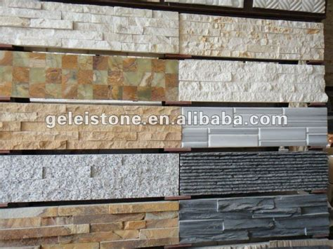 house exterior walls slate tile  sale exterior