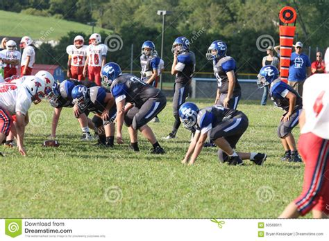 middle school football teams editorial photo image 60568911