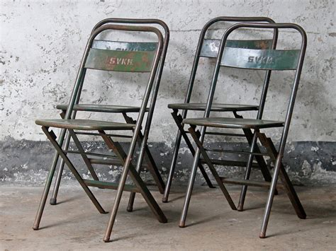 metal folding chairs vintage metal folding chair green metal chairs