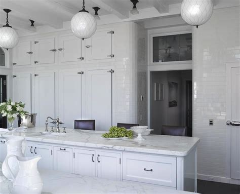 wall to wall kitchen cabinets subway tiled kitchen transitional kitchen heiberg