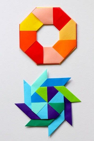 Paper Folding Activities In Mathematics - 25 best ideas about origami on diy origami