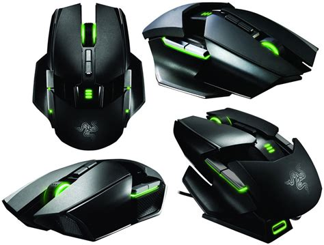 is it a tranformer no it s razer s ouroboros mouse tech