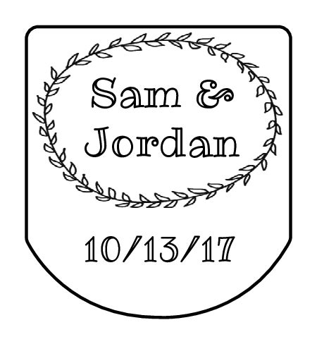 Wedding Favor Labels Template by Wedding Label Templates Wedding Label Designs