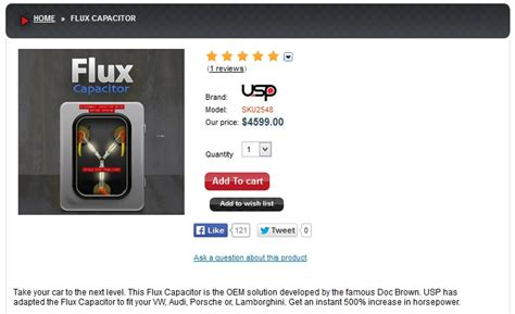 real flux capacitor for sale great there are flux capacitors on sale on a us motorsport website joe ie