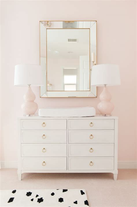 Pink Changing Table Best 25 Pink Gold Nursery Ideas On Diy Nursery Decor Shabby Chic Birthday And