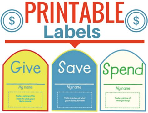 printable money jar labels free give save spend jar labels faithgateway