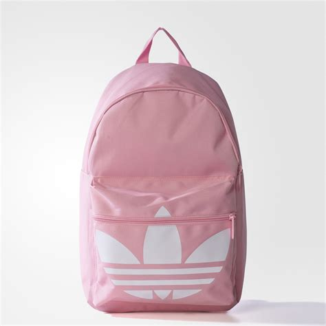 adidas classic trefoil backpack light pink adidas classic trefoil backpack pink adidas uk