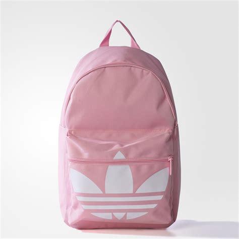 light pink adidas backpack adidas trefoil backpack pink adidas mlt
