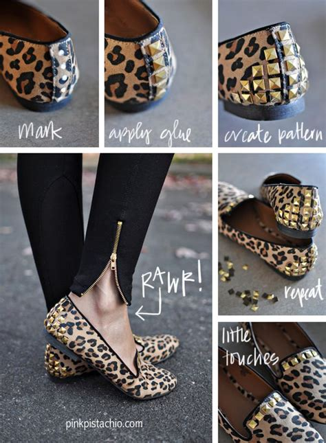 diy studs on shoes diy studded flats refashion shoes can be bought or