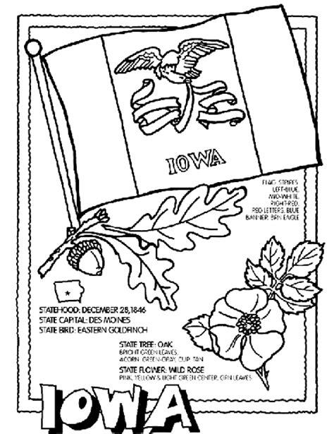 crayola coloring pages states iowa coloring page crayola com