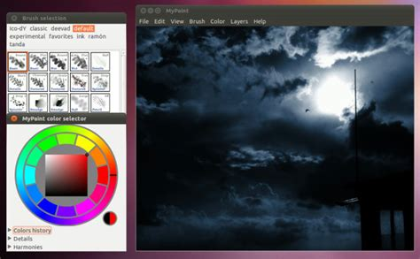 mypaint is digital painting app for windows linux and mac