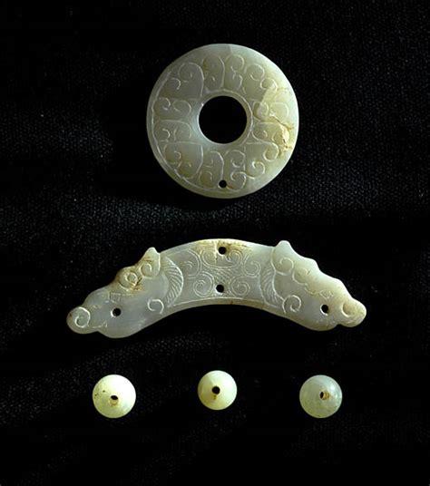 jade set layout han dynasty jade china