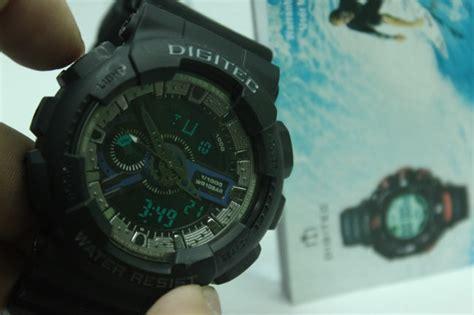 Digitec Dg 2039t Black Original new digitec dualtime dg2020t hildayunitasari
