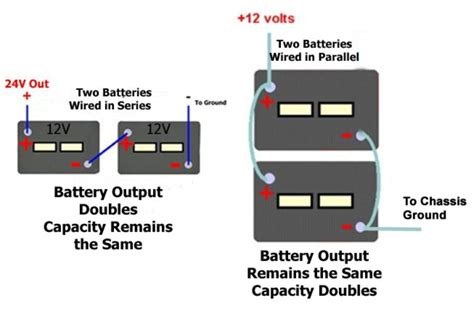 Charger Bolt 2 1 Ere 2 Output how to connect two 12 volt batteries and still 12
