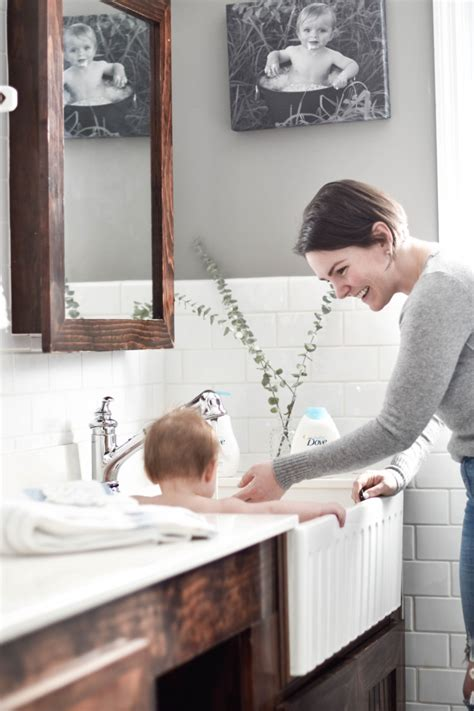 how to bathe baby in sink baby bath q a how to bathe a baby like a